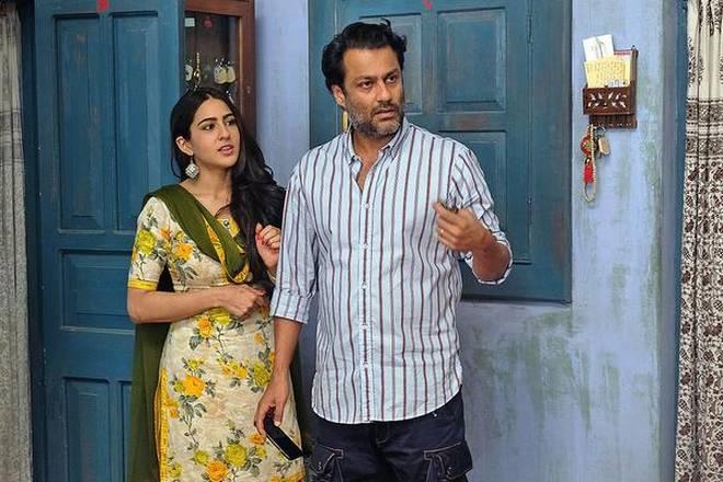 Abhishek Kapoor and Sara Ali Khan