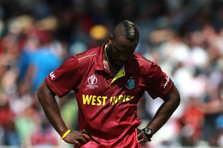 West Indies' Andre Russell ruled out of World Cup due to injury, Ambris called in as replacement