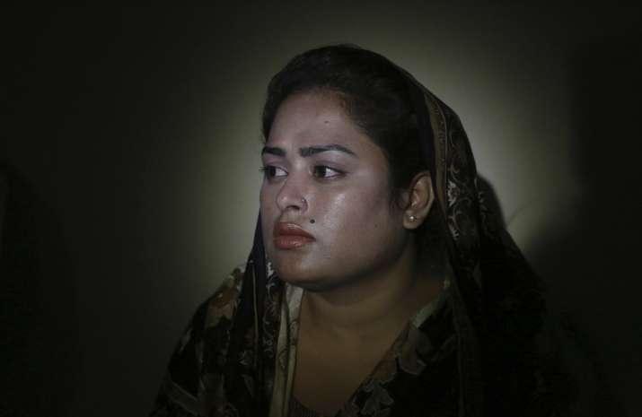 In this May 14, 2019, photo, Pakistani Christian Natasha