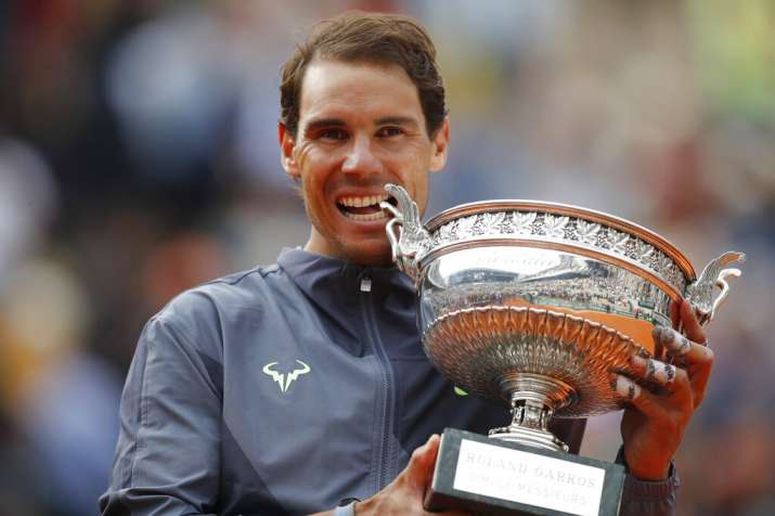 French Open 2020 Rafael Nadal Can Tie Roger Federer S 20 Slams With Lucky No 13 In Paris Tennis News India Tv