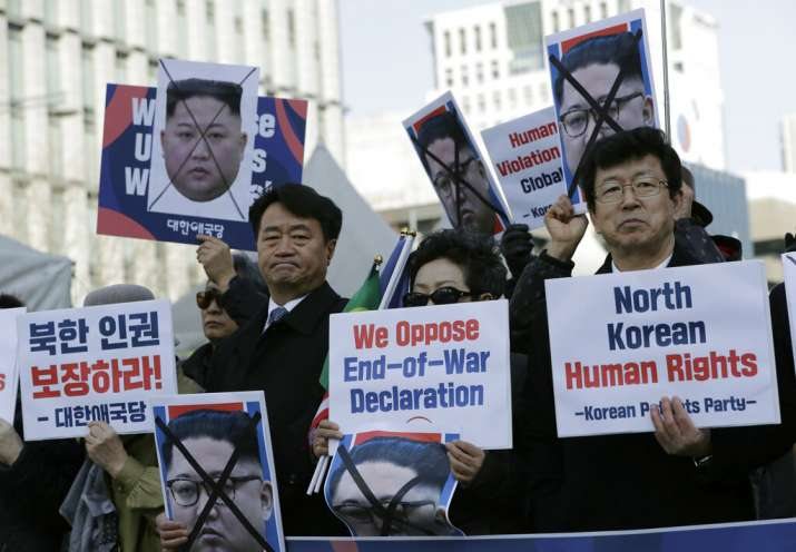 North Korean public execution sites identified by human