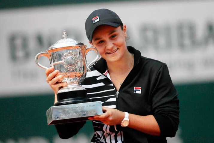 French Open 2019: Ashleigh Barty dominates Marketa Vondrousova to win maiden Grand Slam title