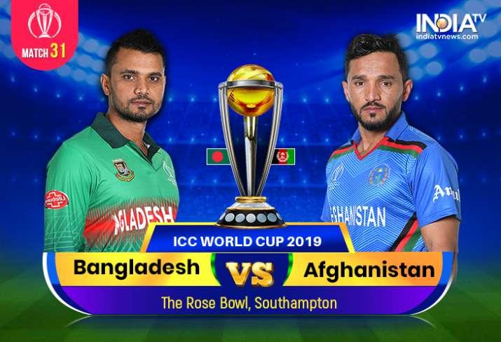 Live Cricket Streaming, Bangladesh vs Afghanistan, 2019 World Cup