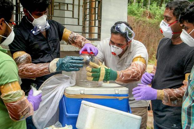 The Ernakulam health authorities said the youth was being