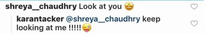 India Tv - Karan Tacker's reply to Shreya Chaudhry