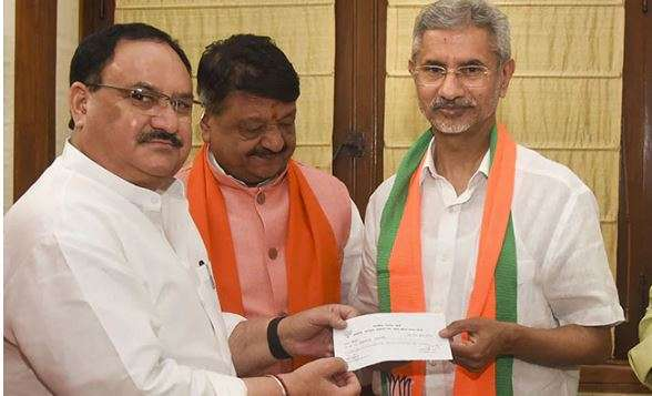 External Affairs Minister S Jaishankar officially joins BJP