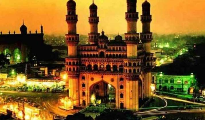 The famed Char Minar in Hyderabad