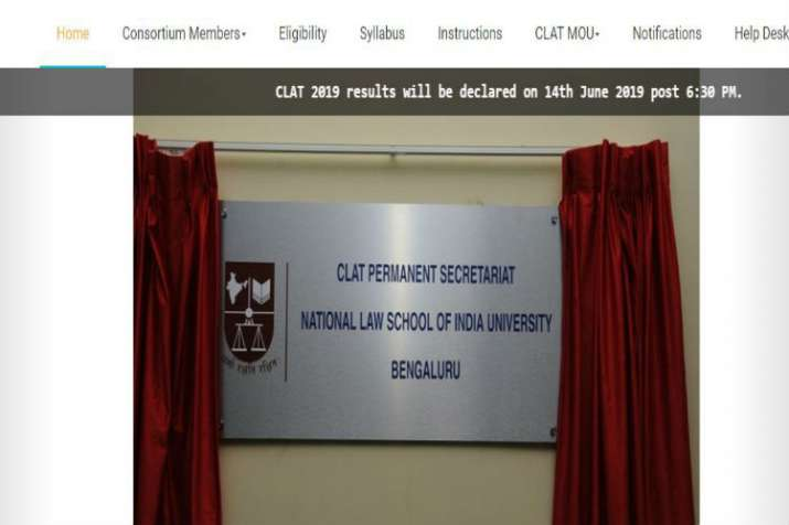 CLAT Results 2019