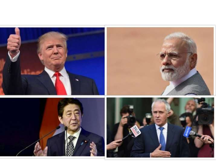 The Quad countries, India, Australia, Japan and the US,