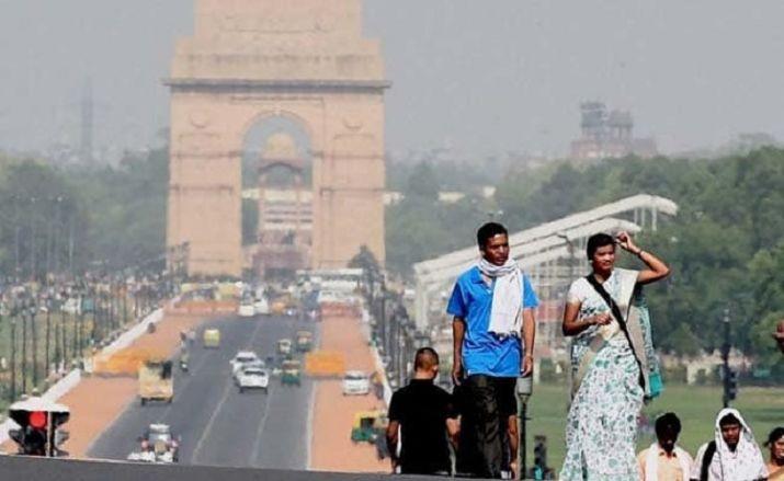Delhi heatwave condition