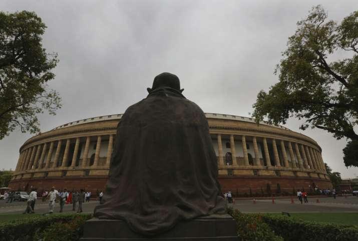 India Tv - The Parliament building, New Delhi