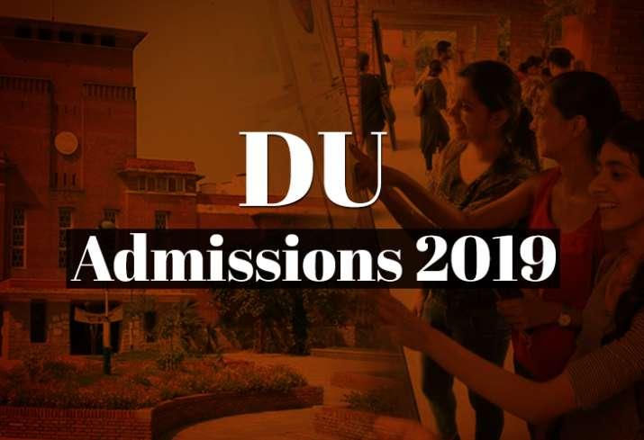 DU Admissions 2019: When will Delhi University release