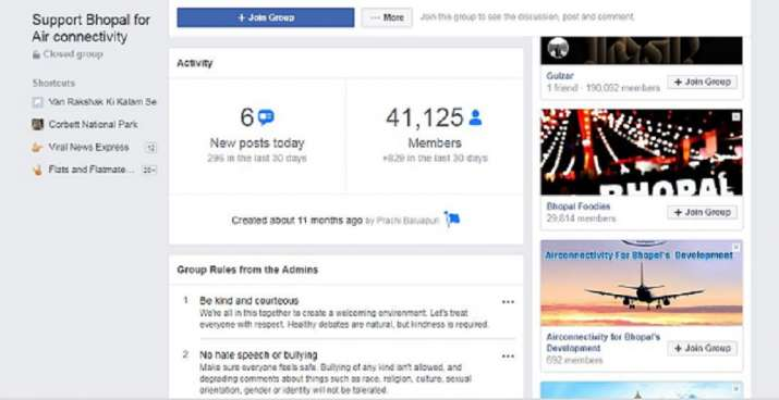 India Tv - Facebook Group