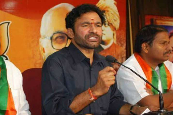 Union Minister of State for Home G. Kishan Reddy
