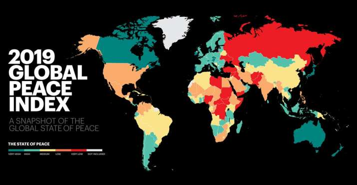 Iceland remains the most peaceful country in the world, a