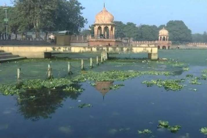 Gomti river in Lucknow