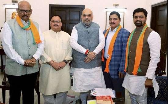 Jolt to Chandrababu Naidu in Rajya Sabha: 4 TDP MPs,