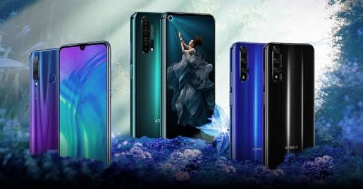 Honor launches its new Honor 20 Pro, Honor 20 and Honor 20i in India