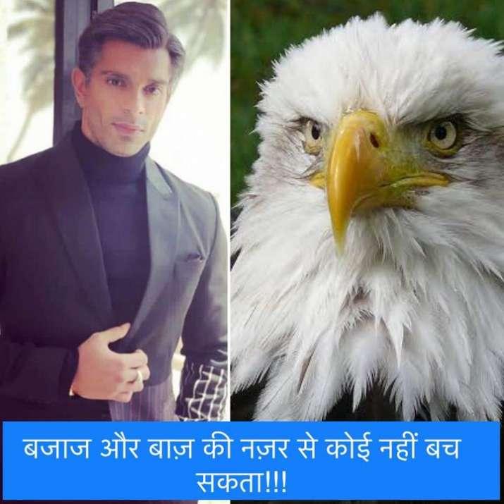 India Tv - Karan Singh Grover aka Mr. Bajaj turns food for hilarious memes