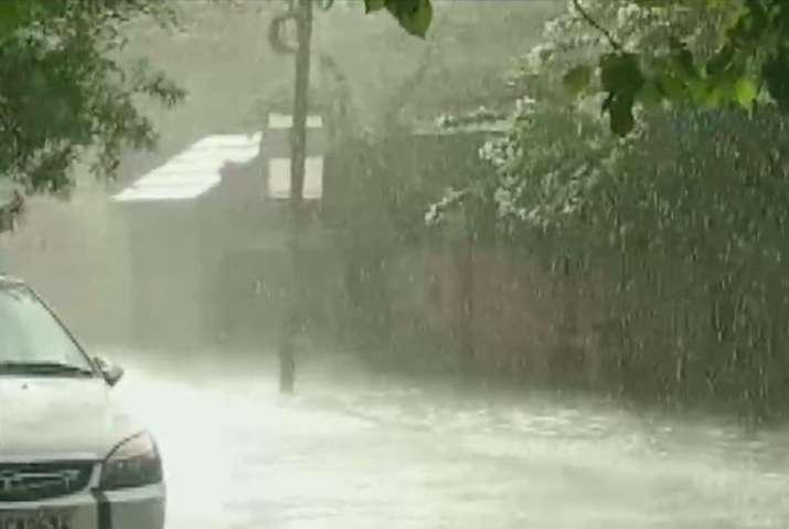 India Tv - Rains in Indore, Madhya Pradesh