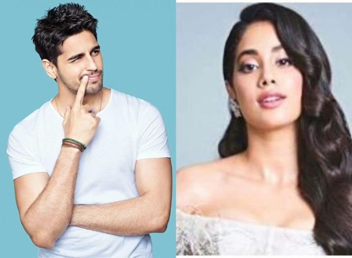India Tv - Sidharth Malhotra and Janhvi Kapoor