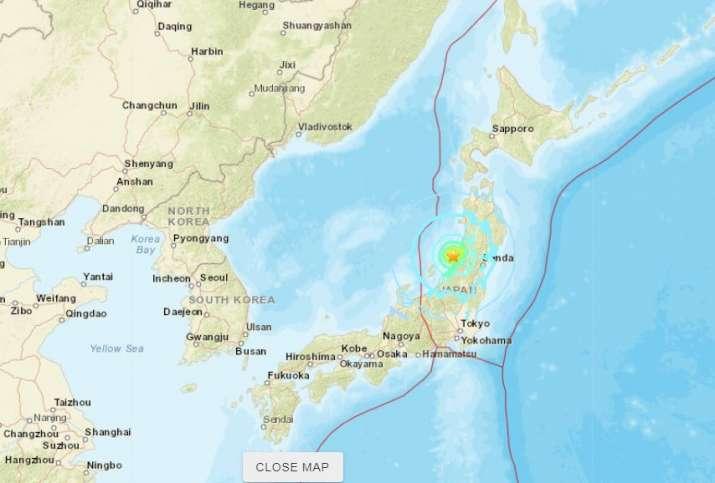 Massive earthquake jolts Japan, tsunami warning issued