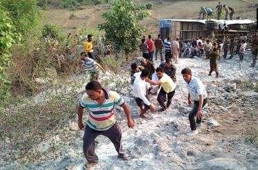 Jharkhand Bus Accident