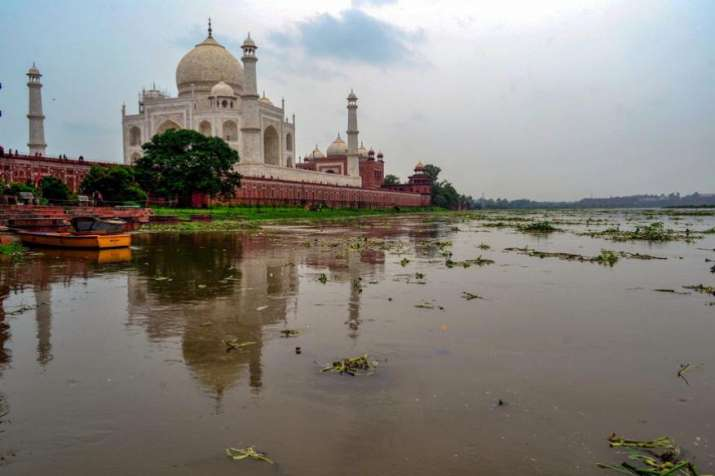 A drying Yamuna could endanger Taj Mahal