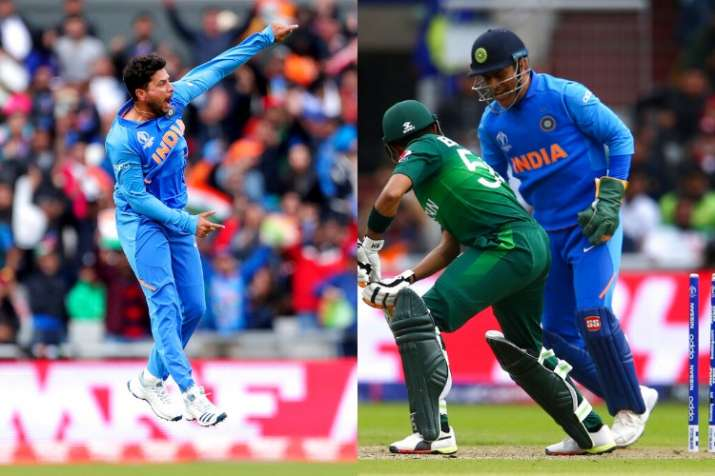 Kuldeep Yadav bowled a dream delivery to dismiss Babar Azam.