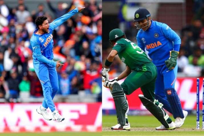 Kuldeep Yadav bowled a dream delivery to dismiss Babar Azam.