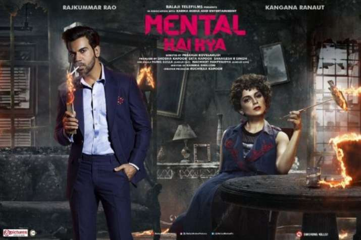 Motion Poster of Mental Hai Kya is launched.