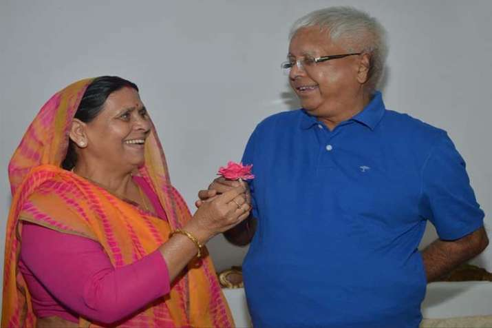 Rabri Devi, a former Bihar chief minister herself, wished