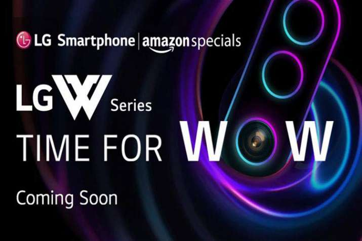 LG W-series smartphone with AI triple rear cameras and waterdrop notch display launching on June 26