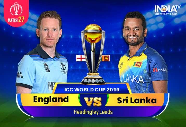 England vs Sri Lanka, World Cup 2019: Watch ENG vs SL Online