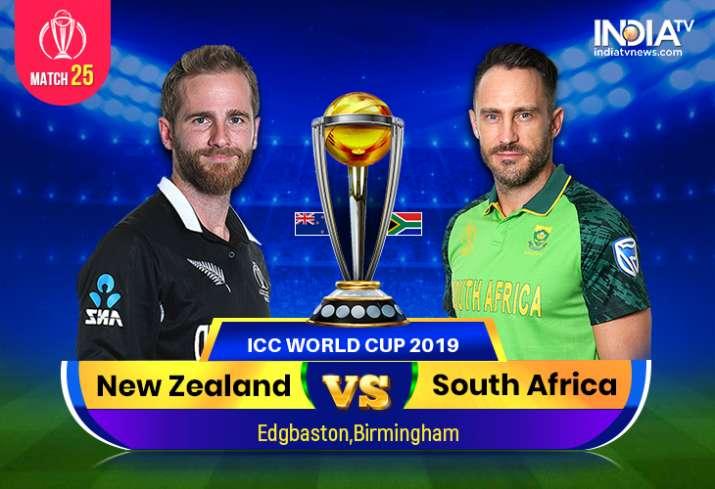 New Zealand vs South Africa, World Cup 2019: Watch NZ vs SA on Hotstar Cricket, Star Sports 1, 2
