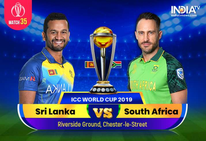 Live Streaming, Sri Lanka vs South Africa, 2019 World Cup; Watch Live Cricket Match SL vs SA on DD S