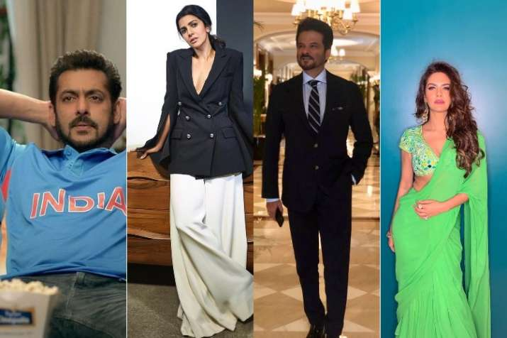 Bollywood celebrities congratulating team India