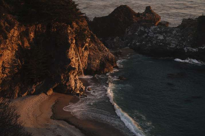 India Tv - McWay Falls in Big Sur, California