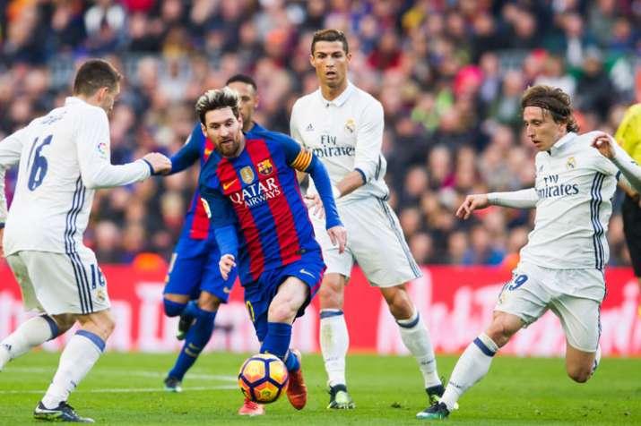 Barcelona talisman Lionel Messi misses arch-rival Cristiano Ronaldo in La Liga