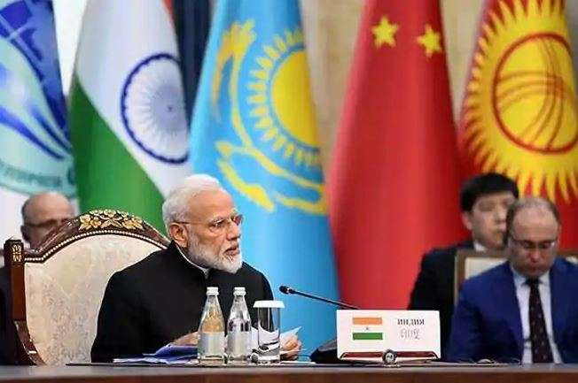 The meeting on the sidelines of the SCO Summit here is