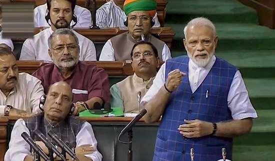 This is democracy, not Emergency: PM Modi's sharp rebuttal