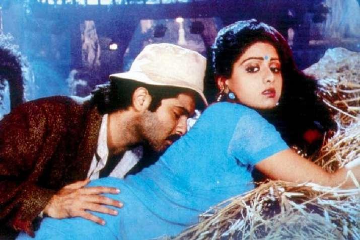 India Tv - Boney Kapoor reveals true story behind wife Sridevi's iconic Mr. India song