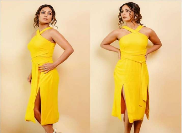 Hina Khan starts shooting for a new project and fans wonder what it is