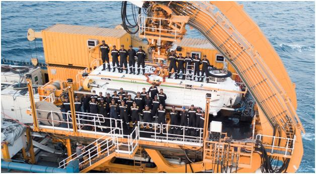 The entire evolution was done on June 2 by the Indian crew
