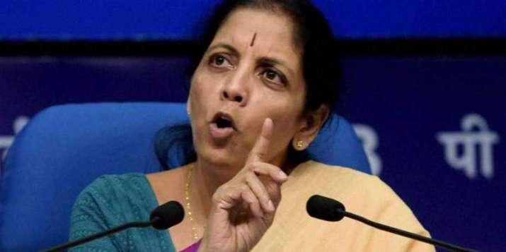 Finance Minister Nirmala Sitharaman will chair her first