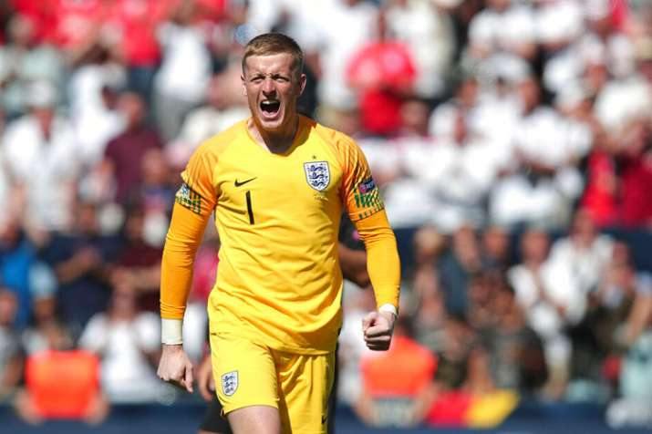 UEFA Nations League: Goalkeeper Jordan Pickford penalty star as England end 3rd in tournament