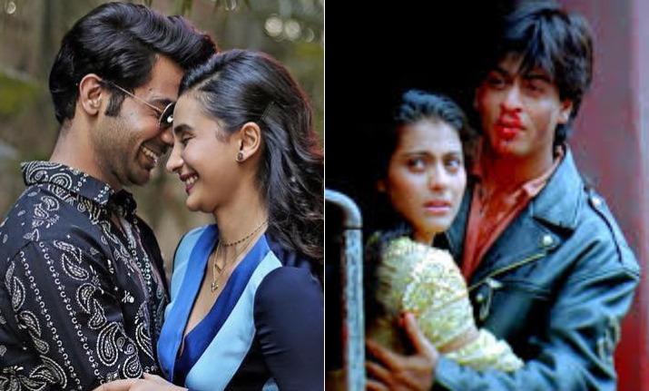 Rajkummar, Patralekhaa recreate Shah Rukh Khan and Kajol's 'DDLJ' iconic climax trail; Watch video