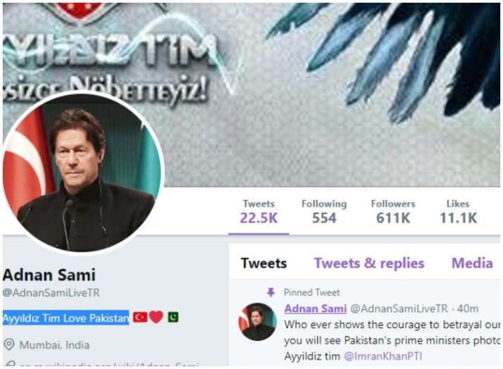 India Tv - Adnan Sami Twitter hacked