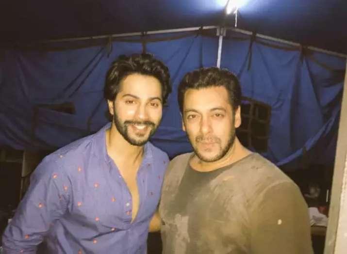 India Tv - Salman Khan compliments Varun Dhawan calling him next superstar, actor responds