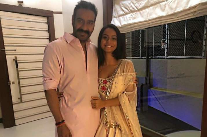 Ajay Devgn with his 16-year-old daughter Nysa Devgn